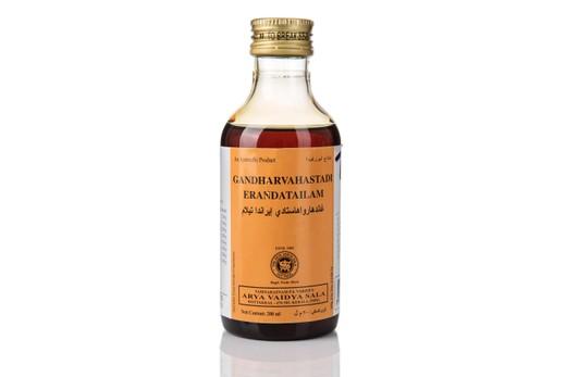 Массажное маcло Гандхарвахастхади Тайлам/ Gandaharahasthadi 200мл