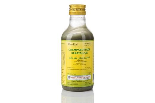 Массажное масло Чемпарутхьями Кератайлам/ Chemparuthyadi Kera 200мл